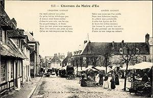 Lied Ansichtskarte / Postkarte Eu Seine Maritime,