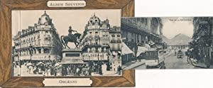 Leporello Ansichtskarte / Postkarte Orléans Loiret, Album