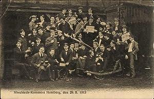 Studentika Ansichtskarte / Postkarte Homberg Efze, Abschieds