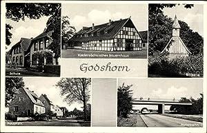 Ansichtskarte / Postkarte Godshorn Langenhagen Niedersachsen, Bauernhaus,