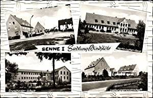 Ansichtskarte / Postkarte Windflöte Senne Bielefeld Nordrhein
