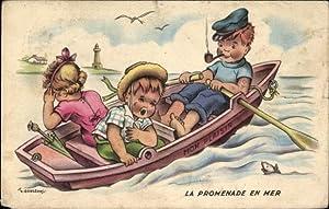 Künstler Ansichtskarte / Postkarte Gougeon, T., La
