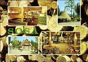 Ansichtskarte / Postkarte Sosa Eibenstock im Erzgebirge,