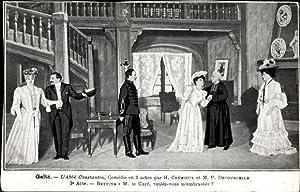 Ansichtskarte / Postkarte Gaité, L'Abbé Constantin, Comédie