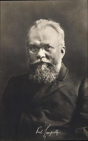 Ansichtskarte / Postkarte Prof. Karl Lamprecht, Deutscher