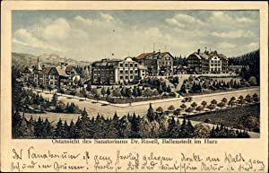 Ansichtskarte / Postkarte Ballenstedt im Harz, Ostansicht