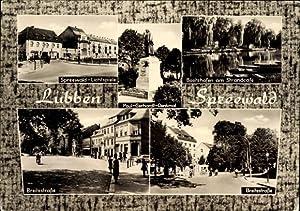 Ansichtskarte / Postkarte Lübben im Spreewald, Spreewald
