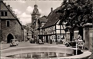 Ansichtskarte / Postkarte Korbach Hessen, Stechbahn mit