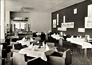 Ansichtskarte / Postkarte Dresden, Hotel Newa, Restaurant