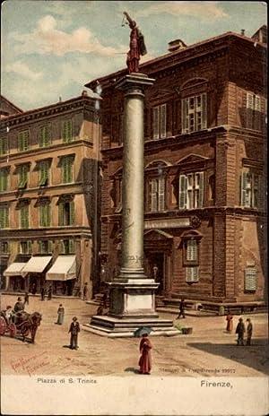 Künstler Litho Panerai, Gino, Firenze Florenz Toscana,
