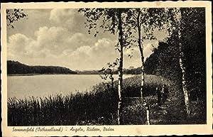 Ansichtskarte / Postkarte Sommerfeld Kremmen an der