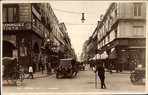 Ansichtskarte / Postkarte Mexiko Stadt, Calle Francisco