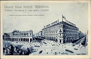 Ansichtskarte / Postkarte Torino Turin Piemonte, Blick
