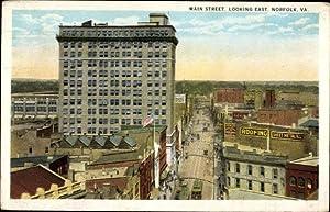 Ansichtskarte / Postkarte Norfolk Virginia USA, Main