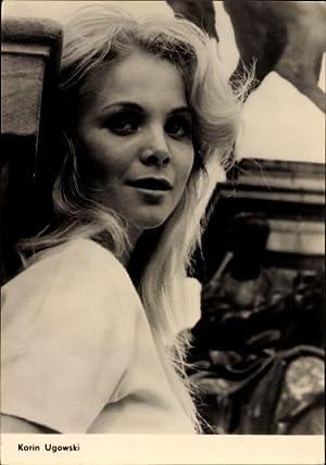Ansichtskarte / Postkarte Schauspielerin Karin Ugowski, Portrait,