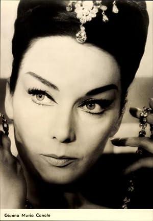 Ansichtskarte / Postkarte Schauspielerin Gianna Maria Canale,