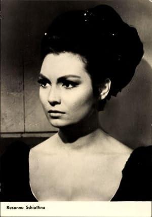 Ansichtskarte / Postkarte Schauspielerin Rosanna Schiaffino, Portrait,