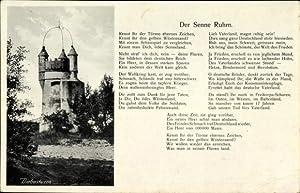 Ansichtskarte / Postkarte Paderborn, Truppenübungsplatz Sennelager, Diebesturm,