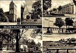 Ansichtskarte / Postkarte Güstrow im Kreis Rostock,