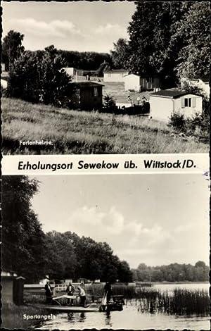 Ansichtskarte / Postkarte Sewekow Wittstock Dosse in
