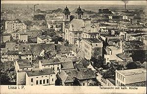 Ansichtskarte / Postkarte Lissa Leszno Posen, Teilansicht