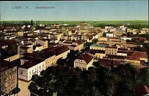 Ansichtskarte / Postkarte Lissa Leszno Posen, Gesamtansicht