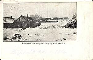 Ansichtskarte / Postkarte Kobylnik Polen, Teilansicht der