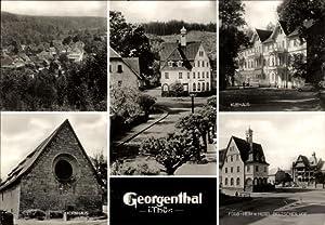 Riesen Ansichtskarte / Postkarte Georgenthal im Tal