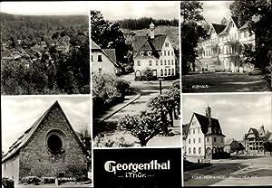 Riesen Ansichtskarte / Postkarte Georgenthal Thüringen, FDGB