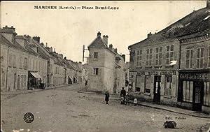 Ansichtskarte / Postkarte Marines Val d'Oise, Place