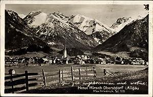 Ansichtskarte / Postkarte Oberstdorf im Oberallgäu, Blick