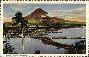 Ansichtskarte / Postkarte Luzón Philippinen, Mayon Volcano,