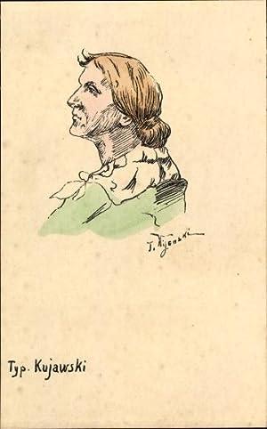 Künstler Ansichtskarte / Postkarte Mijenski, T., Typ.