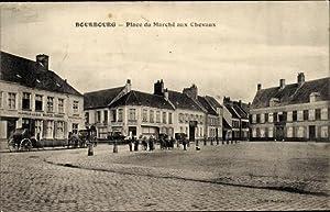 Ansichtskarte / Postkarte Bourbourg Nord, Place du