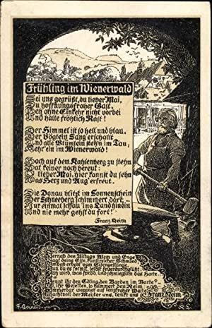 Ansichtskarte / Postkarte Frühling im Wienerwald, Franz