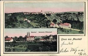Ansichtskarte / Postkarte Neustadt Waiblingen im Rems