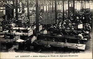 Ansichtskarte / Postkarte Lorient Morbihan, Atelier d'ajustage