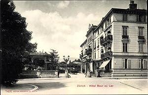 Ansichtskarte / Postkarte Zürich Stadt Schweiz, Hôtel