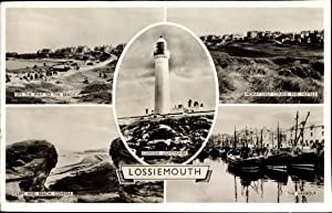 Ansichtskarte / Postkarte Lossiemouth Moray Schottland, Beach,