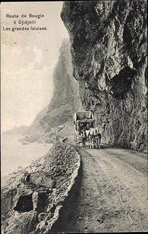 Ansichtskarte / Postkarte Jijel Algerien, Route de