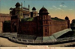 Ansichtskarte / Postkarte Delhi Indien, Fort, Lahori