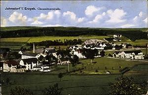 Ansichtskarte / Postkarte Jahnsdorf im Erzgebirge, Totalansicht