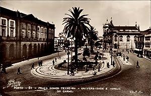 Ansichtskarte / Postkarte Porto Portugal, Praca Gomes