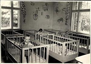 Foto Meerane in Sachsen, Geburtsklinik, Kinder, Kinderbetten