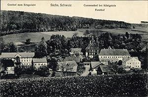 Ansichtskarte / Postkarte Cunnersdorf Gohrisch in Sachsen,