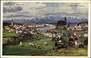 Künstler Ansichtskarte / Postkarte Oberndorf in Salzburg,