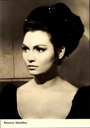Ansichtskarte / Postkarte Schauspielerin Rosanna Schiaffino, Mandragola,