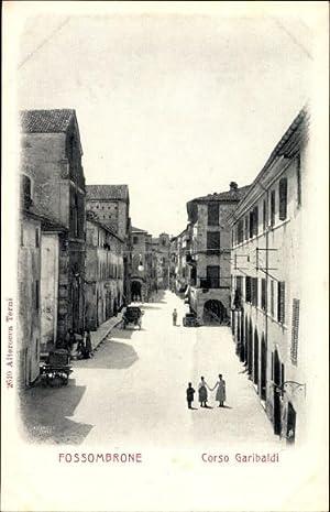 Ansichtskarte / Postkarte Fossombrone Marche, Corso Garibaldi,