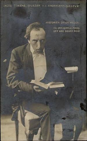Ansichtskarte / Postkarte Schauspieler Jacob Texière, Oplaeser