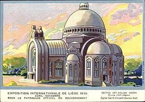 Künstler Ansichtskarte / Postkarte Liège Lüttich Wallonien,